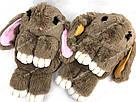 """🐰 Сумка-Рюкзак 🐰 меховой Кролик """"Rex Fendi"""" (зайка, зайчик) как игрушка, фото 2"""