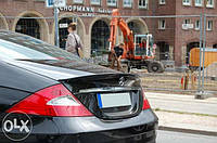 Спойлер крышки багажника Mercedes CLS W219 стиль AMG