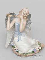 """Фарфоровая статуэтка ангел """"Волшебная флейта"""" (Pavone)"""