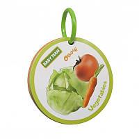 Книжка-игрушка «Фрукты-овощи», BabyTeam 12+