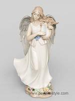 """Фарфоровая статуэтка ангел """"Волшебная лира"""" (Pavone)"""