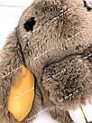 """🐰 Сумка-Рюкзак 🐰 коричневый меховой Кролик """"Rex Fendi"""" (зайка, зайчик) как игрушка, фото 7"""