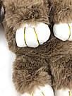 """🐰 Сумка-Рюкзак 🐰 коричневый меховой Кролик """"Rex Fendi"""" (зайка, зайчик) как игрушка, фото 10"""