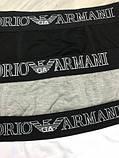 Подарочный комплект мужских трусов Emporio  Armani M L хлопковые боксеры мужские трусы Эмпорио Армани реплика, фото 5