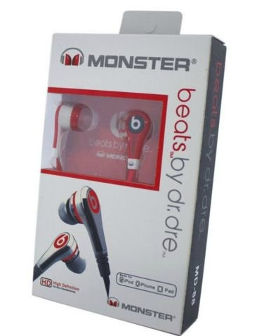 Наушники Monster Beats Dr. MD-88 Red