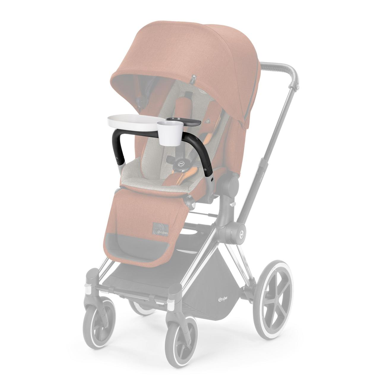 Бампер со столиком Cybex Priam Snack Tray PriamLS+2-in-1 / Grey-grey PU2
