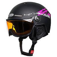 Шлем OSBE New Light R Black L-XL  (60-61 см)