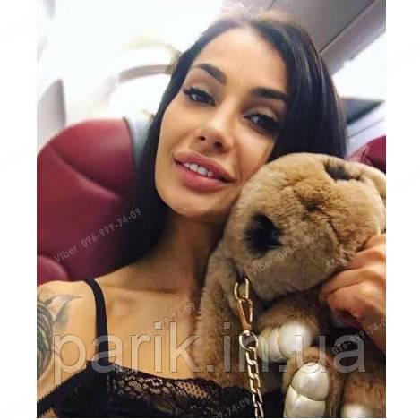 """🐰 Сумка-Рюкзак 🐰 коричневый меховой Кролик """"Rex Fendi"""" (зайка, зайчик) как игрушка"""