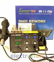Паяльная станция LUKEY852d+FAN от Интернет-магазина Electronoff – разрушение привычных ассоциаций !