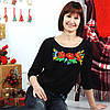 Женская вышиванка  Патент роскош до 56 размера