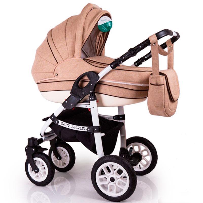 Детская коляска 2 в 1 Baby Marlen Cappuccino