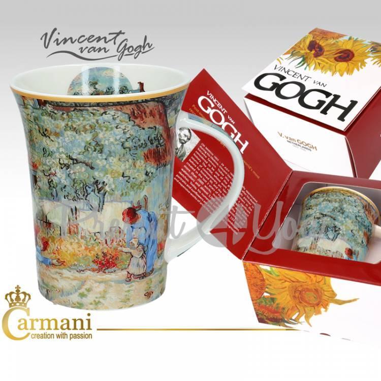 Кружка фарфоровая Ван Гог «Первые шаги» Carmani