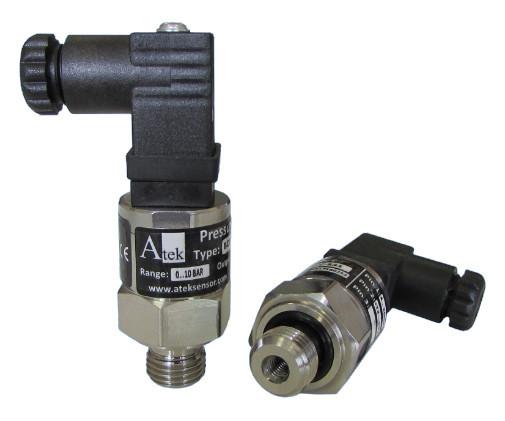 Датчик давления малогабаритный серии BCT22, 0...550 Bar, 0...10 V, G1, DIN43650
