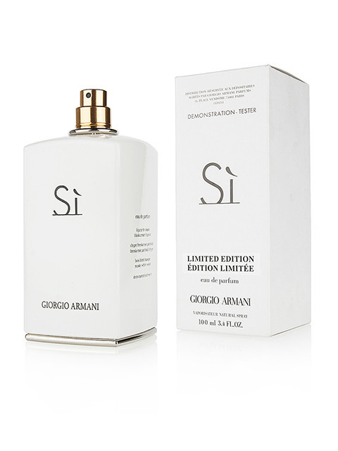 Женские духи Армани Armani Si White Limited Edition edp 100ml Тестер - .  Онлайн - супермаркет b837b3db97672