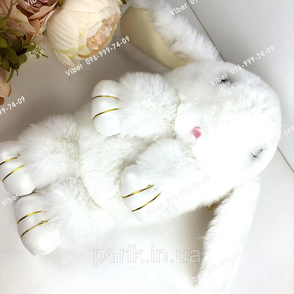 """🐰 Сумка-Рюкзак 🐰  меховой Кролик """"Rex Fendi"""" (зайка, зайчик) как игрушка"""
