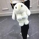 """🐰 Сумка-Рюкзак 🐰  меховой Кролик """"Rex Fendi"""" (зайка, зайчик) как игрушка, фото 8"""