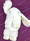"""🐰 Сумка-Рюкзак 🐰 белоснежный меховой Кролик """"Rex Fendi"""" (зайка, зайчик) как игрушка, фото 5"""