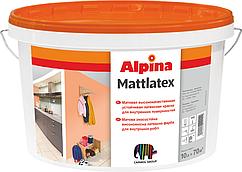 Краска ALPINA MATTLATEX КРАСКА ДЛЯ ПОТОЛКА И СТЕН 10л