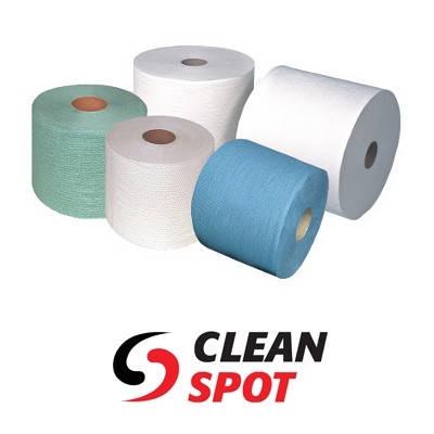 Промышленные бумажные и нетканые протирочные материалы