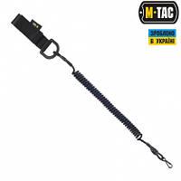 Шнур страховочный Lite под карабин с D-кольцом M-TAC (Black)