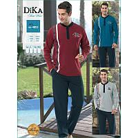 Домашняя одежда Dika - Пижама мужская 4853 M синий 4d3be6f2755ae
