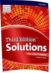 Английский язык /Solutions/ Student's Book. Учебник, Pre-Intermediate /Oxford