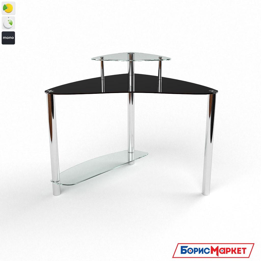 Компьютерный стол стекляный Валенсия от БЦ-Стол