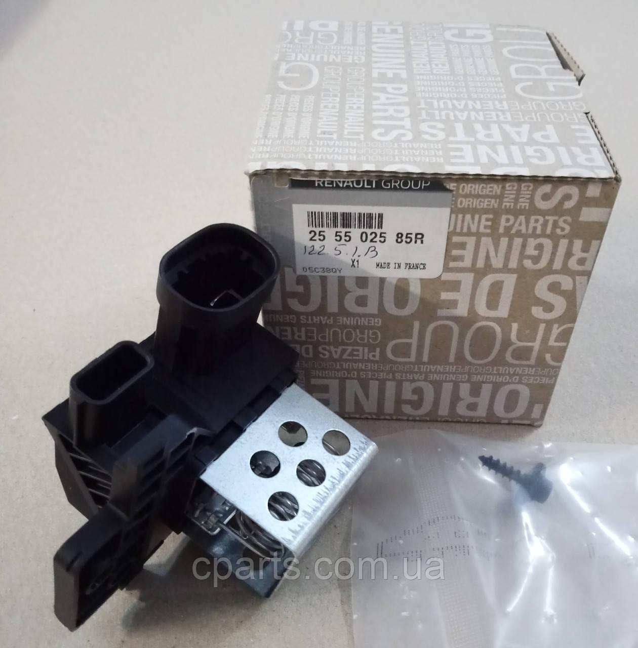 Резистор вентилятора охлаждения Renault Logan MCV 2 (оригинал)