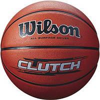 Баскетбольный мяч Wilson Clutch Basketball Size 7 SS16 Brown WTB1434XB