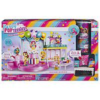 Великий ігровий набір з лялечками Party Popteenies Оригінал, фото 1