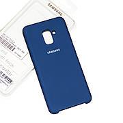 Силіконовий чохол Samsung A8 Plus 2018 A730 Soft-touch Denim