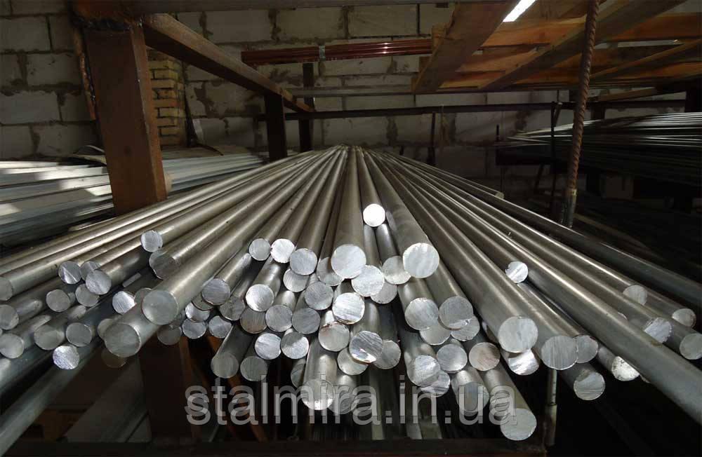 Алюмінієвий Пруток круглий, діаметр 36, марка алюмінію АД31, АД0, АМГ2, АМГ3, АМГ5, АМГ6, АМЦ, Д16, В95