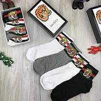 Мужской подарочный комплект Gucci мужские носки для мужчин 39-44 хлопковые  качественные Гуччи люкс реплика 6b0020e9a82e4