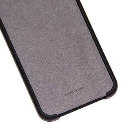 Силиконовый чехол на Samsung Galaxy A7 2018 A750 Soft-touch Black, фото 2