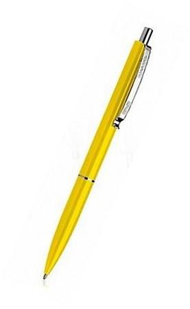Ручка шариковая автомат. SCHNEIDER OFFICE 0,7 мм. корпус желтый, пишет синим