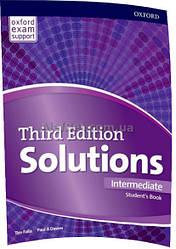 Английский язык /Solutions/ Student's Book. Учебник,Intermediate/Oxford