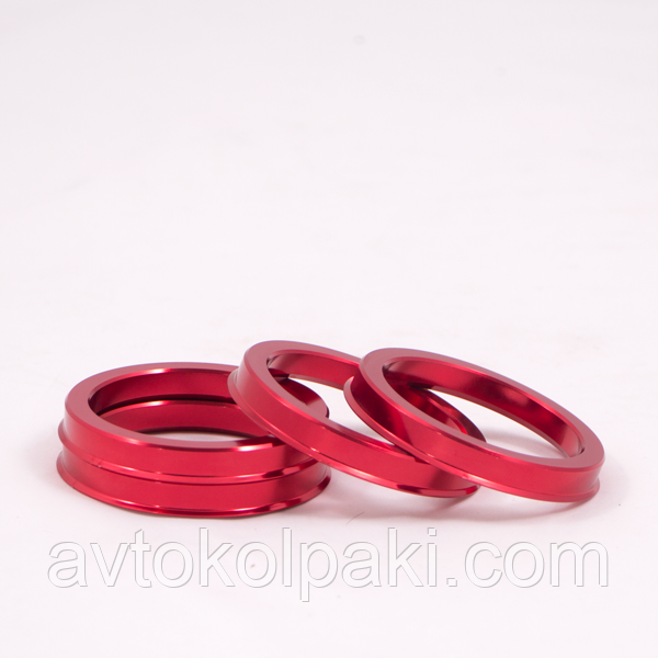 Центровочные кольца  67.1 / 56.6  Алюминий RED
