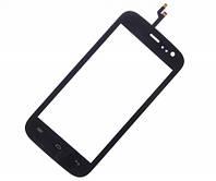 Сенсорний екран для смартфону Explay Golf, тачскрін чорний, #YXD045-316A1