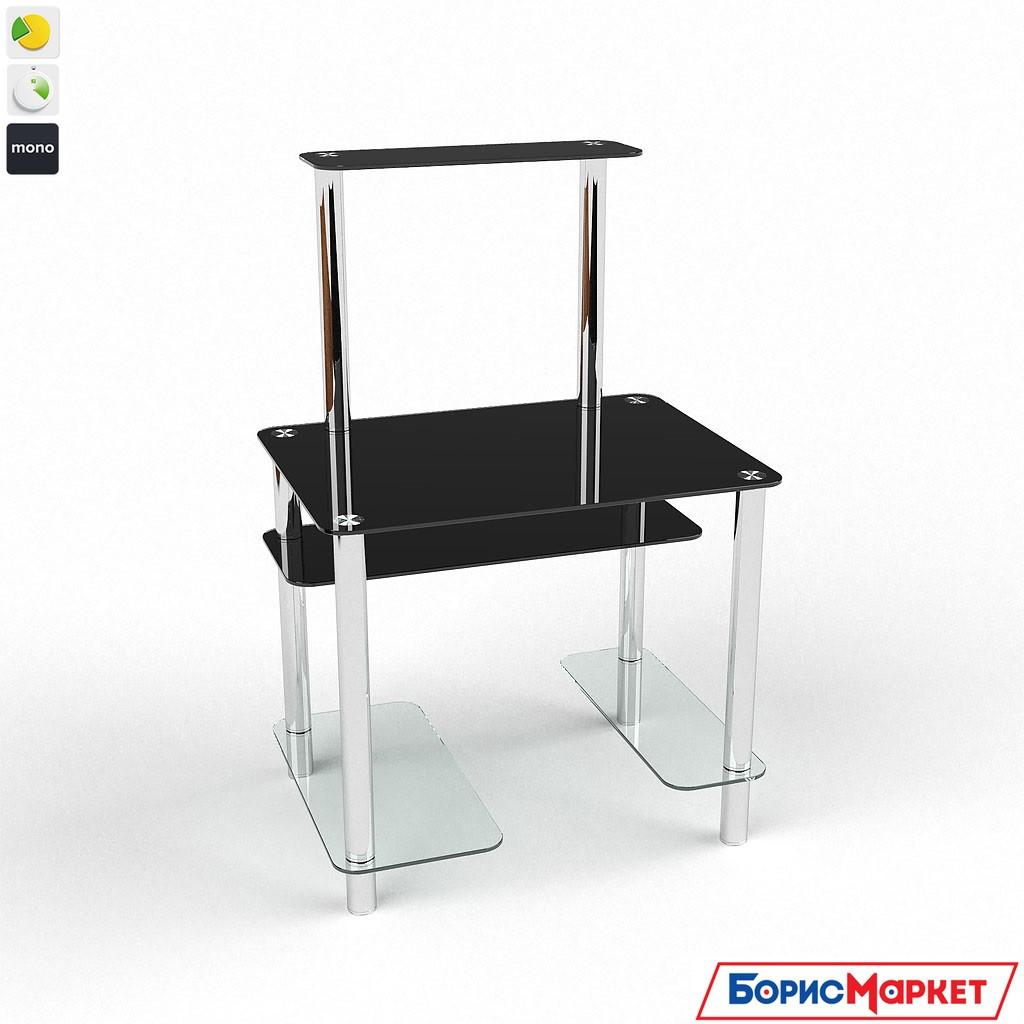 Компьютерный стол стекляный Дельта от БЦ-Стол