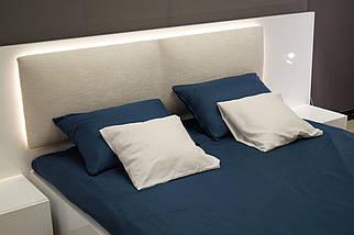 Ліжко з тумбами Silver глянець, фото 3
