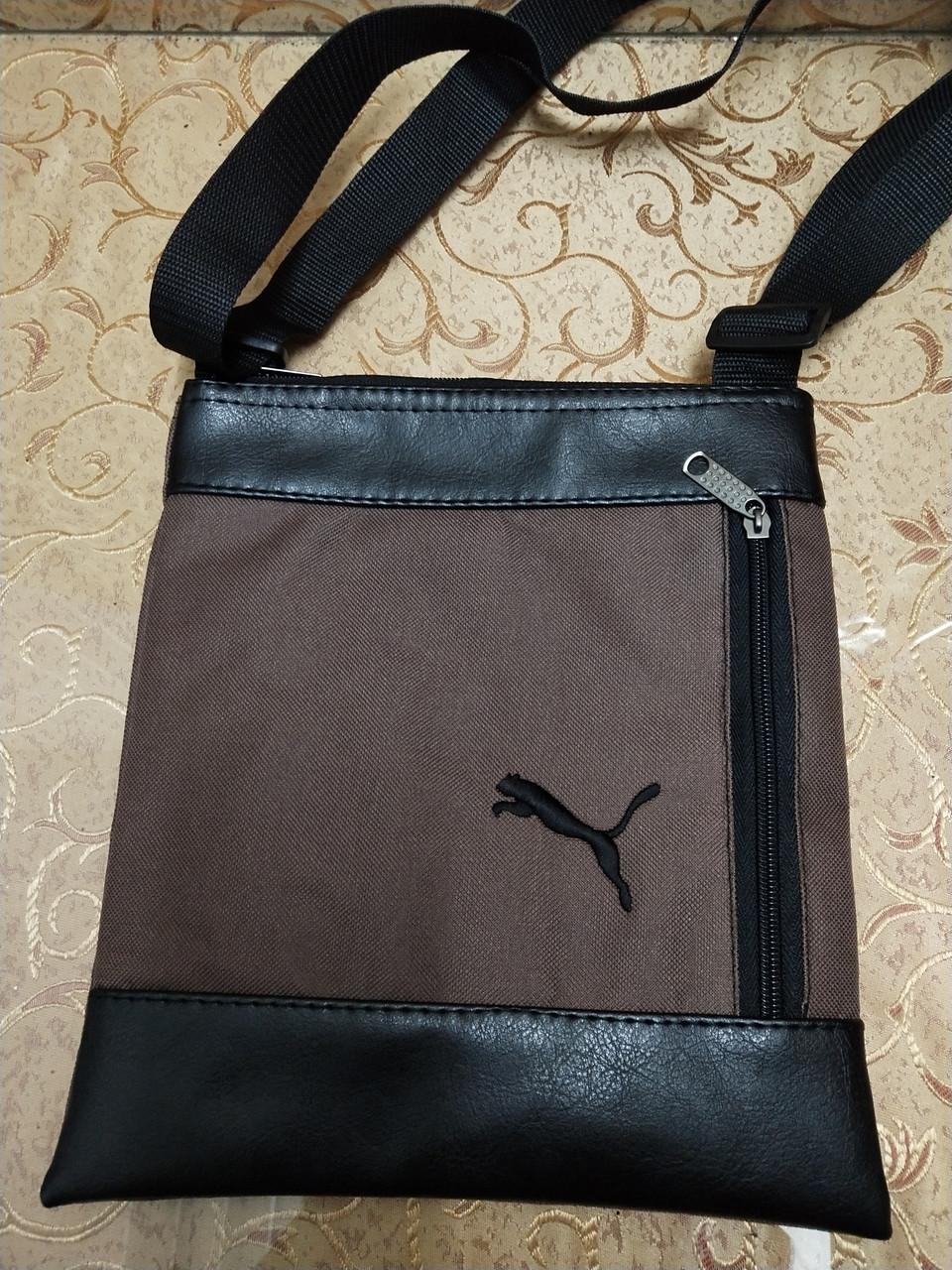 Барсетка сумка puma для через плечо спортивные (только ОПТ)