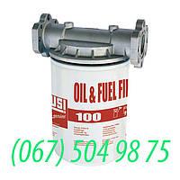 Фильтр PIUSI для топлива и масла 100 л/мин  art. F00914900A, фото 1