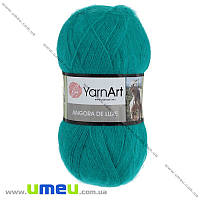Пряжа YarnArt Angora De Luxe 100 г, 520 м, Бирюзовая 11448, 1 моток (YAR-029517)