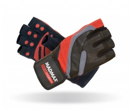 Перчатки Mad Max Extreme 2nd Workout Gloves MFG-568 размер L black/red