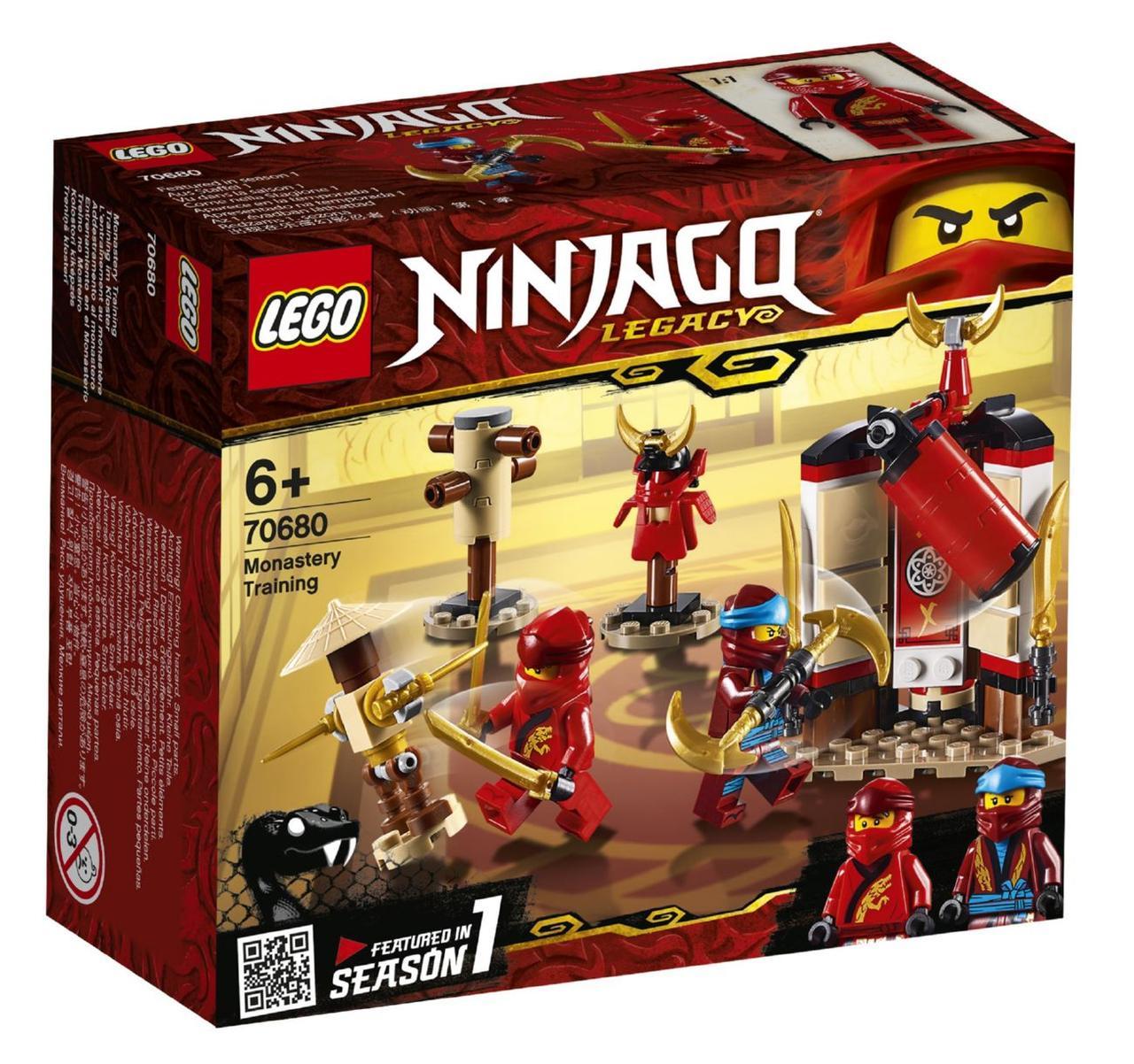 Lego Ninjago Обучение в монастыре 70680