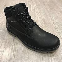 Мужские зимние ботинки Timberland (Большие размеры) / черные / р.46-50, фото 1