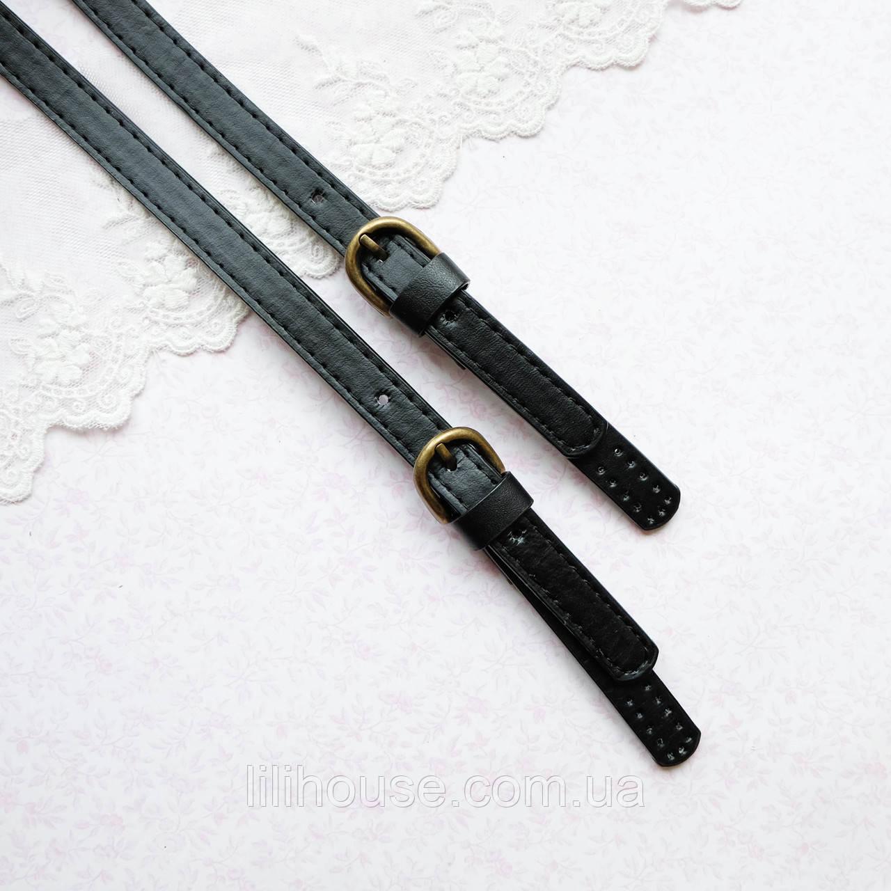 Ручка для сумки 1.4 см АДЕЛАИДА 75 см Черная