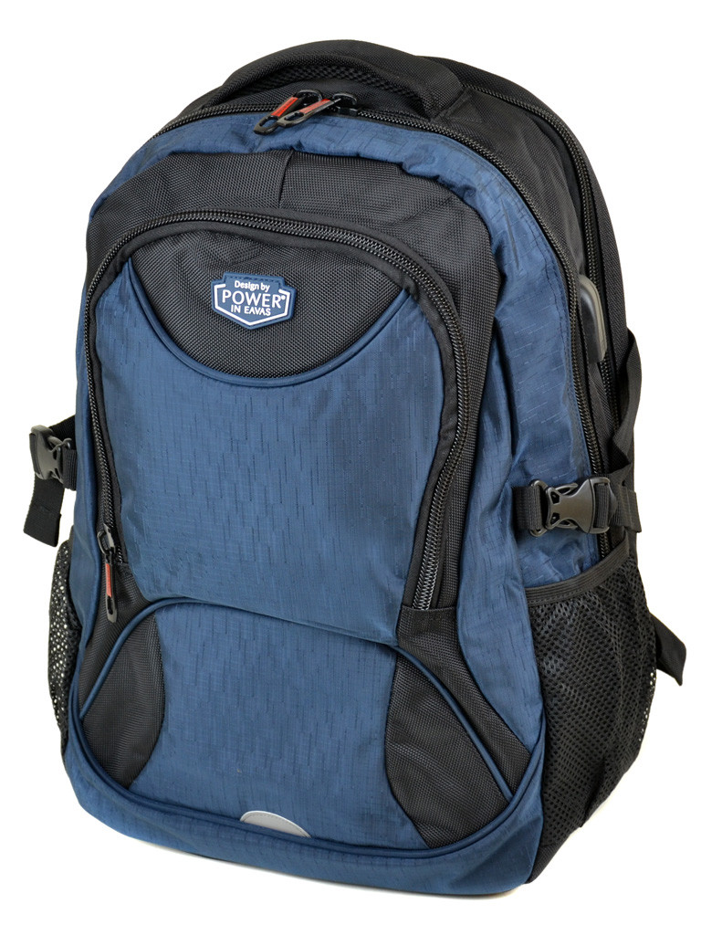 Рюкзак Городской нейлон Power In Eavas 7224 black-blue