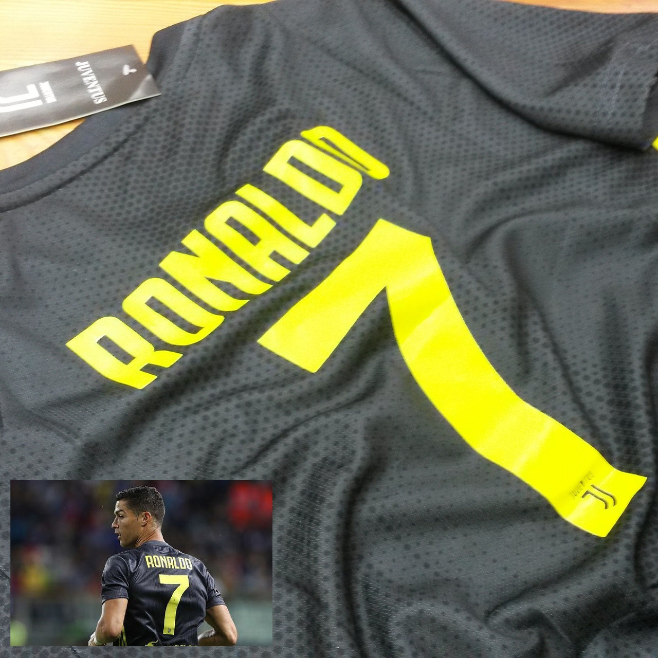 Детская футбольная форма ЮВЕНТУС №7 Роналдо