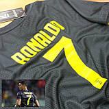 Детская футбольная форма ЮВЕНТУС №7 Роналдо + гетры в подарок, фото 2